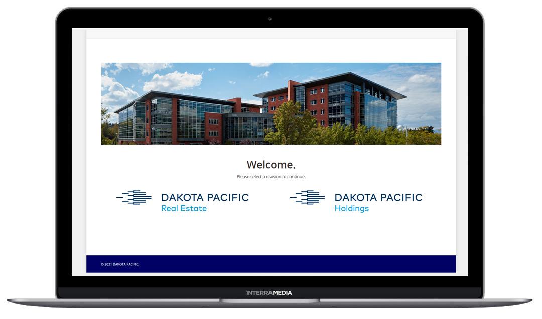 Dakota Pacific holdings website designed in NWA