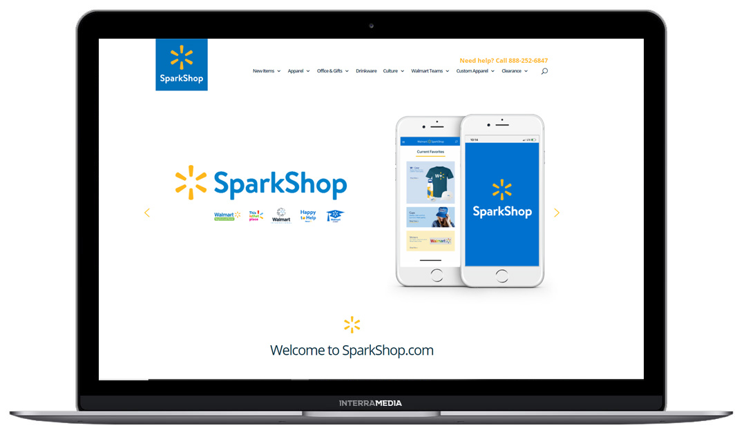 Sparkshop Website Design in Northwest Arkansas